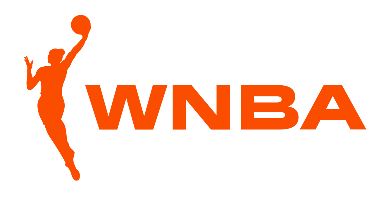 The updated WNBA logo that just went into effect this year (2019) and will have it's own rollout campaign into the 2020 season.