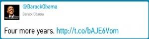 Barrack Obama - Most Popular Retweet for 2012