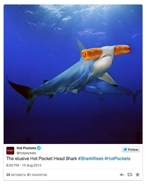 Hot Pockets Shark Week