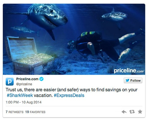 Priceline.com Shark Week