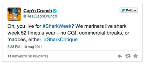 Cap'n Crunch Shark Week