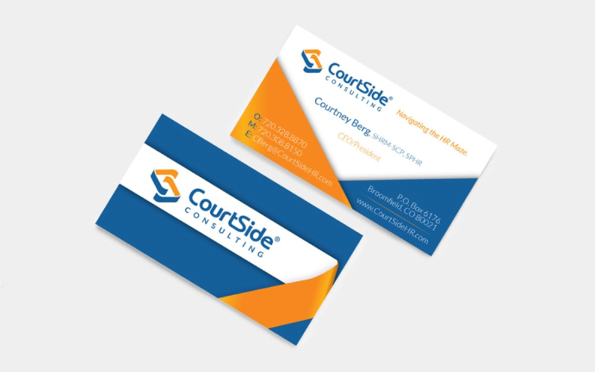 CourtSide Consulting Business Cards