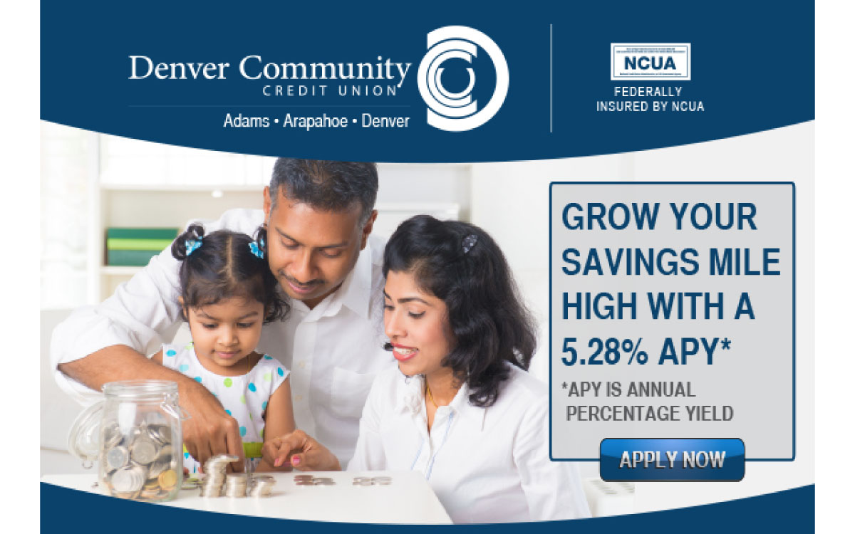 Denver Community Credit Union Banner Ad