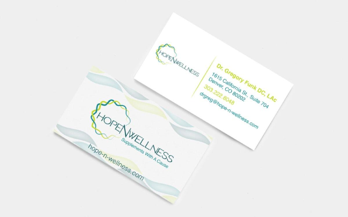 HopeNWellness Business Cards