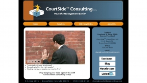 Brand Development - CourtSide Consulting - New Client Announcement