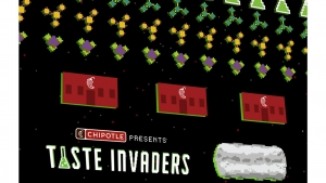 Ad of the Month – Chipotle Taste Invaders