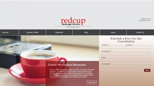 Website Development Update: redcup Beverage Service